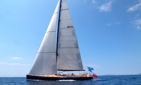 On Board SY NEFERTITI during the Superyacht Cup in Palma