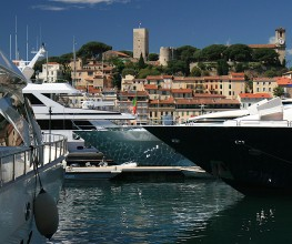 Cannes yacht charter events