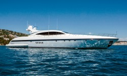M/Y Crazy Too - New Central Agent