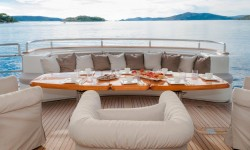 Bluewater at the MYBA superyacht show in Porto Montenegro