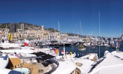 Bluewater at the 2016 Monaco Yacht Show