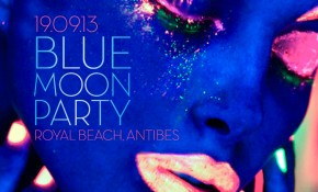 Antibes' First Full Moon Party!