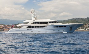 Nassima at the Monaco Yacht Show