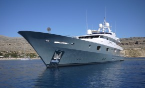 Reduced charter rate for 50 meter Mosaique
