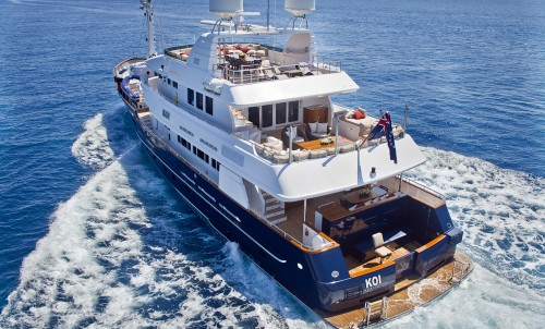 Looking to Explore the Western Med?  Charter luxury yacht Koi!