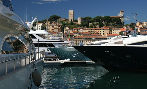 Bluewater at the 2015 Cannes Yachting Festival