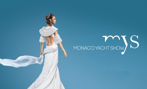 Yachts on display at the Monaco Yacht Show 2015