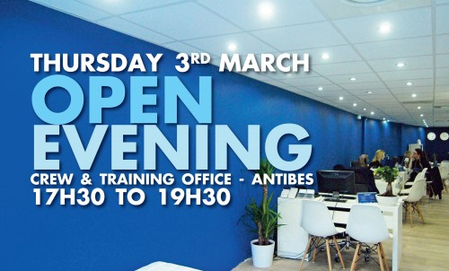 Open Evening in Bluewater Antibes