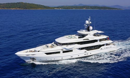 Admiral Maxima 47 - M/Y ENTOURAGE – For Sale