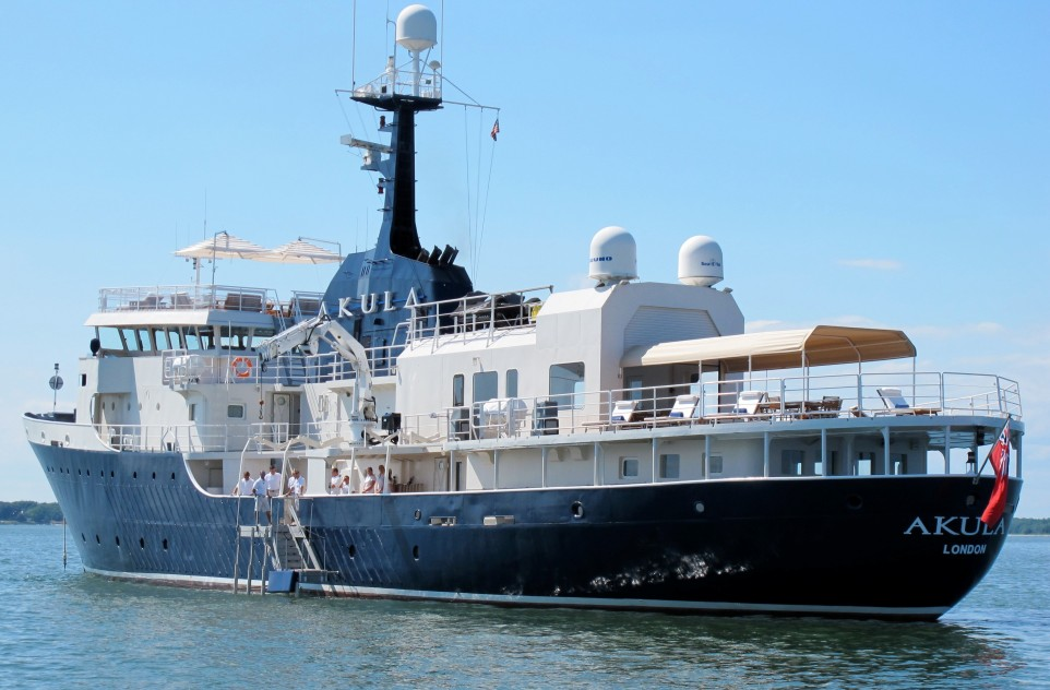 Amels expedition yacht available for viewing