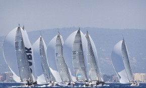 Sailing Yachts at the Palma Superyacht Cup