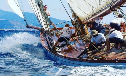 S/Y DORIANA and bluewater at the Monaco Classic Week
