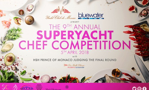 Superyacht Chef Competition with H.S.H. Prince Albert II