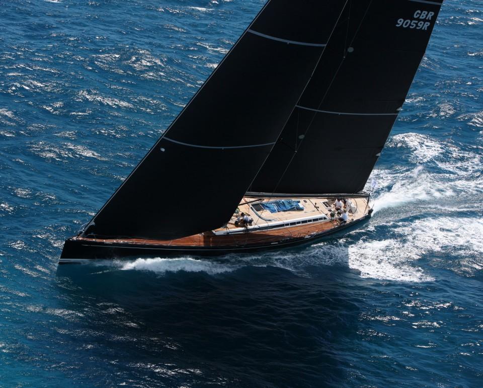 Nautors Swan Sailing Yacht S Y Nefertiti