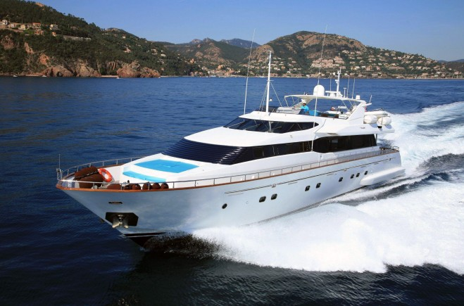 M/Y Powdermonkey of London | Falcon