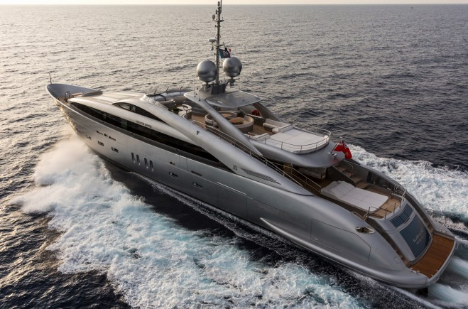M/Y Silver Wind | International Shipyard Ancona (ISA Yachts)