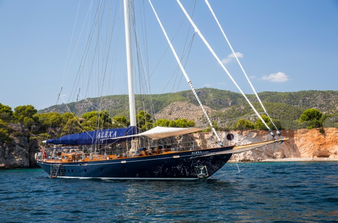 Alexa of London Yacht Charter
