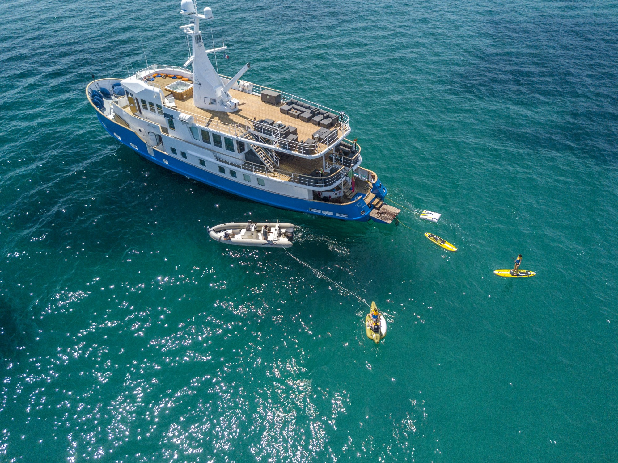 Alter Ego Yacht Charter - WGB Werft - Berlin Luxury Yacht