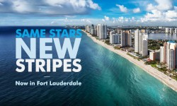 Bluewater arrives in Fort Lauderdale