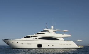 Charter yacht of the week - Ferretti 881