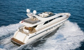 Superyacht SERALIN – Leopard 26 for Sale