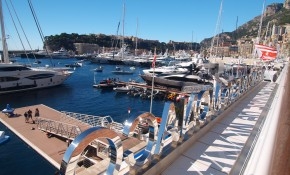 Bluewater at the 2017 Monaco Yacht Show