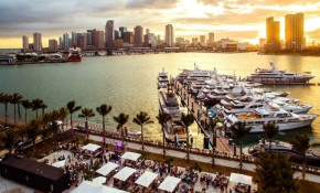 Bluewater at the 2018 Miami Yacht Show