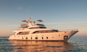 Bluewater extends a warm welcome to 33m M/Y ORSO 3