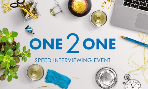 ONE 2 ONE Speed Interviewing Event - Wednesday 29th March 2017