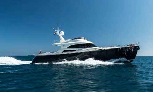 NEW to the Bluewater Fleet -  Motor yacht LUMIERE