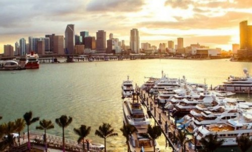 Bluewater at Miami's 3 Premier Yachting events for 2019