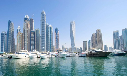 Bluewater at the Dubai International Boat Show