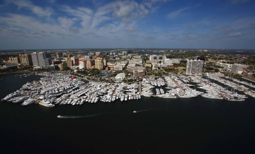 Bluewater at the 2019 Palm Beach International Boat Show