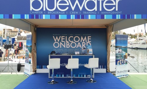 Bluewater at the 2019 Palma Superyacht Show