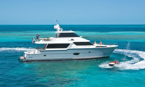 M/Y Silver Lining 74 at the IYBA Charter Open House!