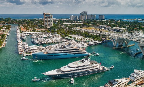 Bluewater At The 2019 Fort Lauderdale International Boat Show