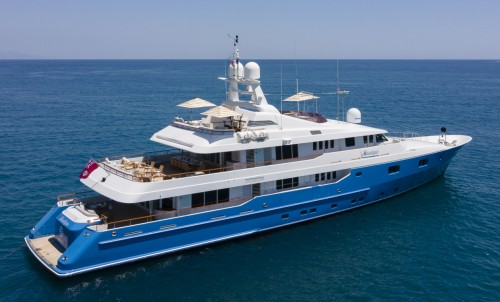 Turquoise Yachts 50m - MOSAIQUE - New CA for Sale