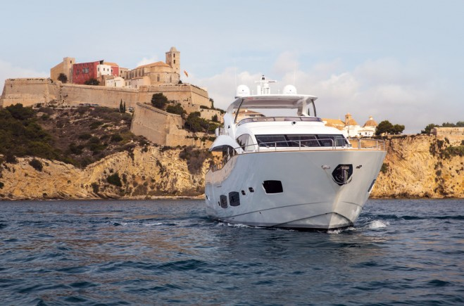 Sunseeker available for charter in Ibiza