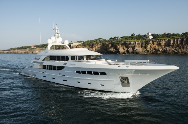 Price reduction on Superyacht Nassima