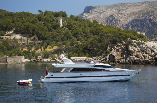 Charter the Balearics in VOGUE