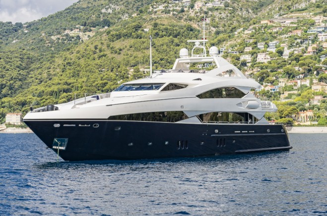 37m Sunseeker THE DEVOCEAN at the Monaco Yacht Show
