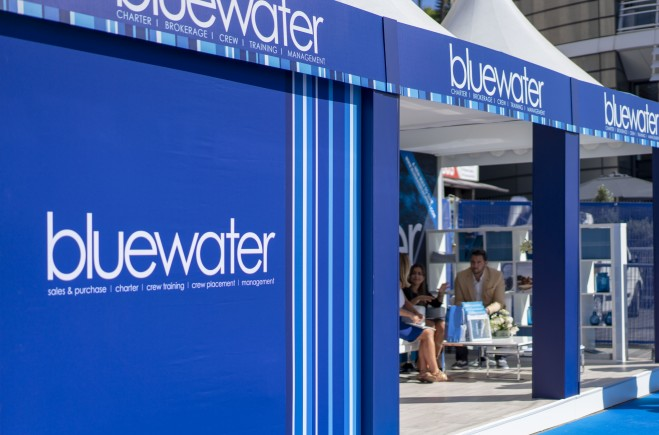 Bluewater at the 2019 Monaco Yacht Show
